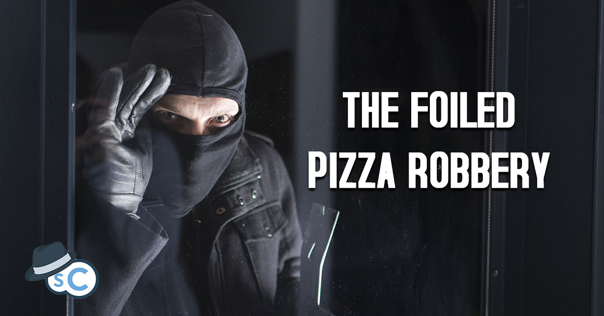 Robber Peeking Inside a Window